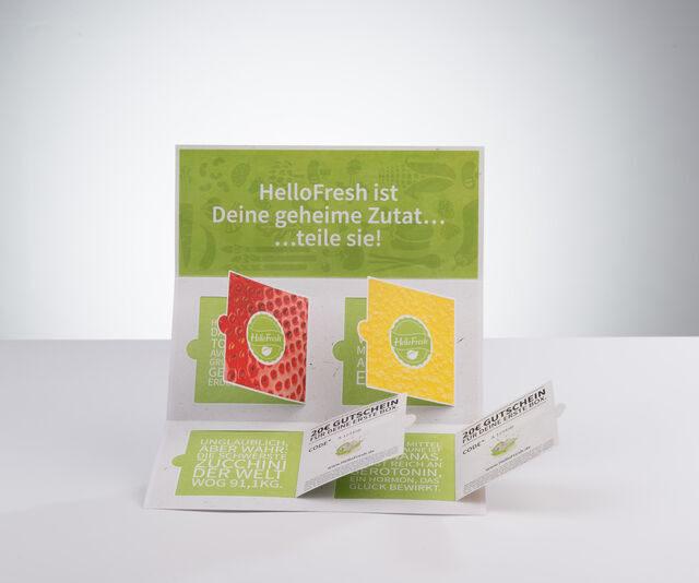 Produktbild Kläppchen hello fresh